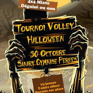 Sanary Volley-Ball - Tournoi de Volley Halloween