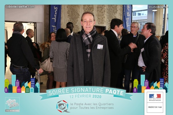 Signature de la convention PAQTE